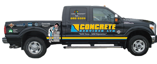 Concrete Services Ltd truck